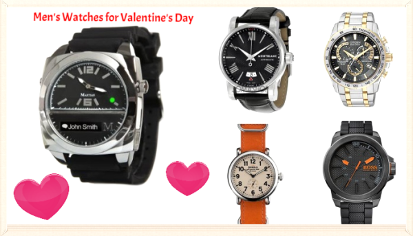 Happy Valentine's Day 2016 Gift for Him (Boyfriend-Husband) - Watches