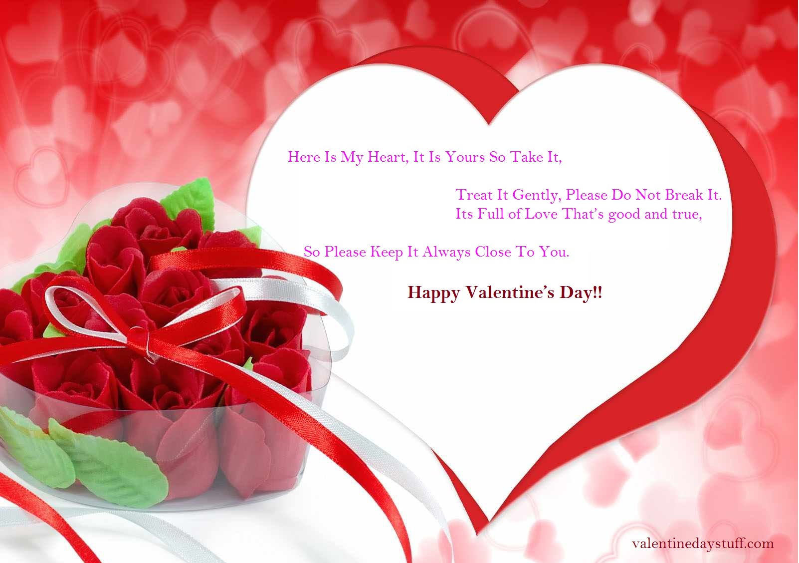 Happy Valentines Day Greeting Cards 2017 Free Download Techicy – Greeting Cards of Valentine Day