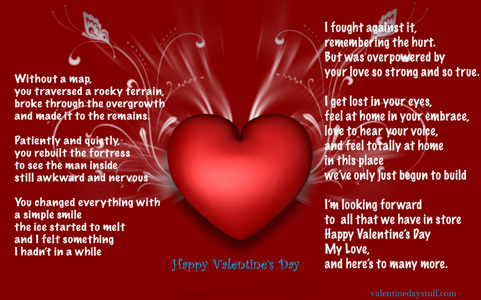 Happy Valentines Day Greeting Cards 2017 Free Download Techicy – Valentines Cards Messages