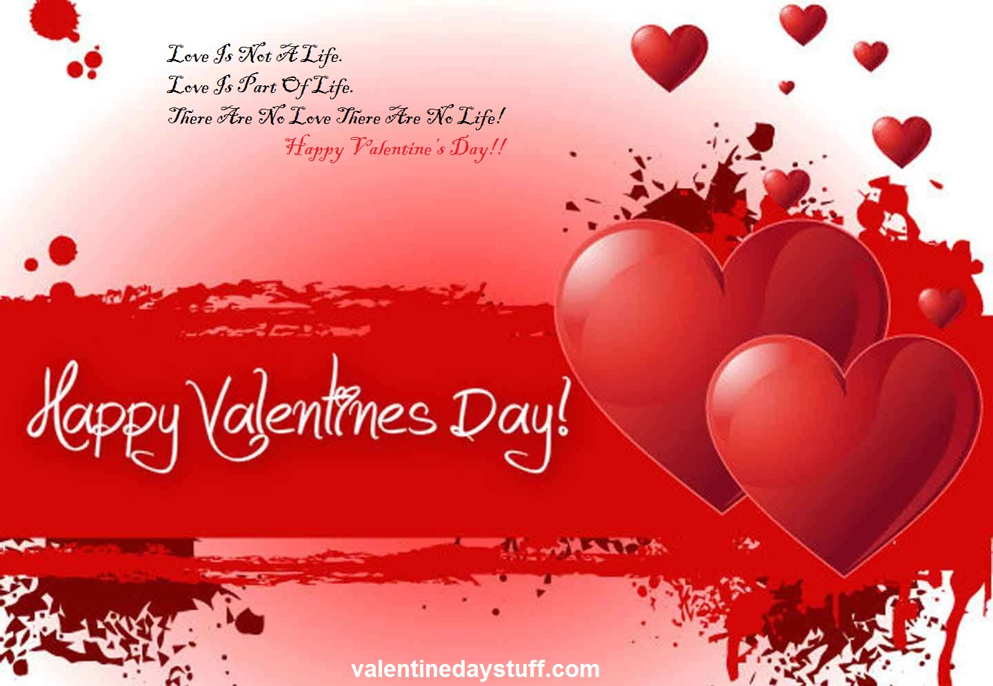 Happy Valentines Day Greeting Cards 2017 Free Download Techicy – Valentine Cards Message
