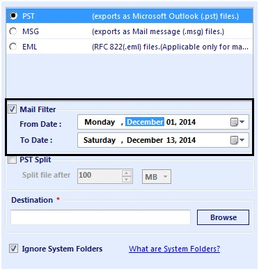 QuickData OST to PST Converter 4