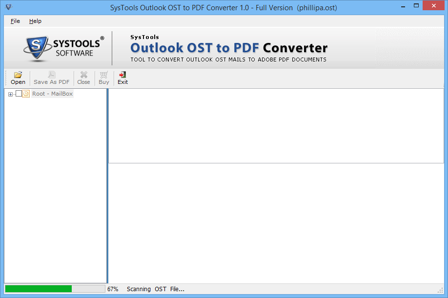 OST to PDF Converter 2