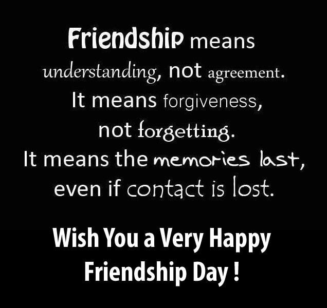 Best Friendship Day Quotes With Images In English : Happy friendship day whatsapp status and facebook messages