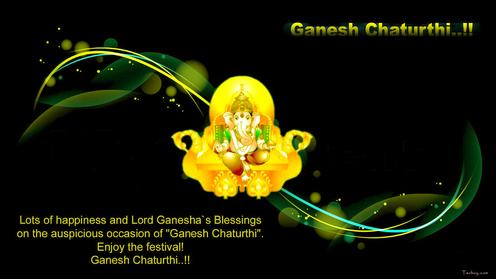 lord ganesha widescreen wallpapers hd