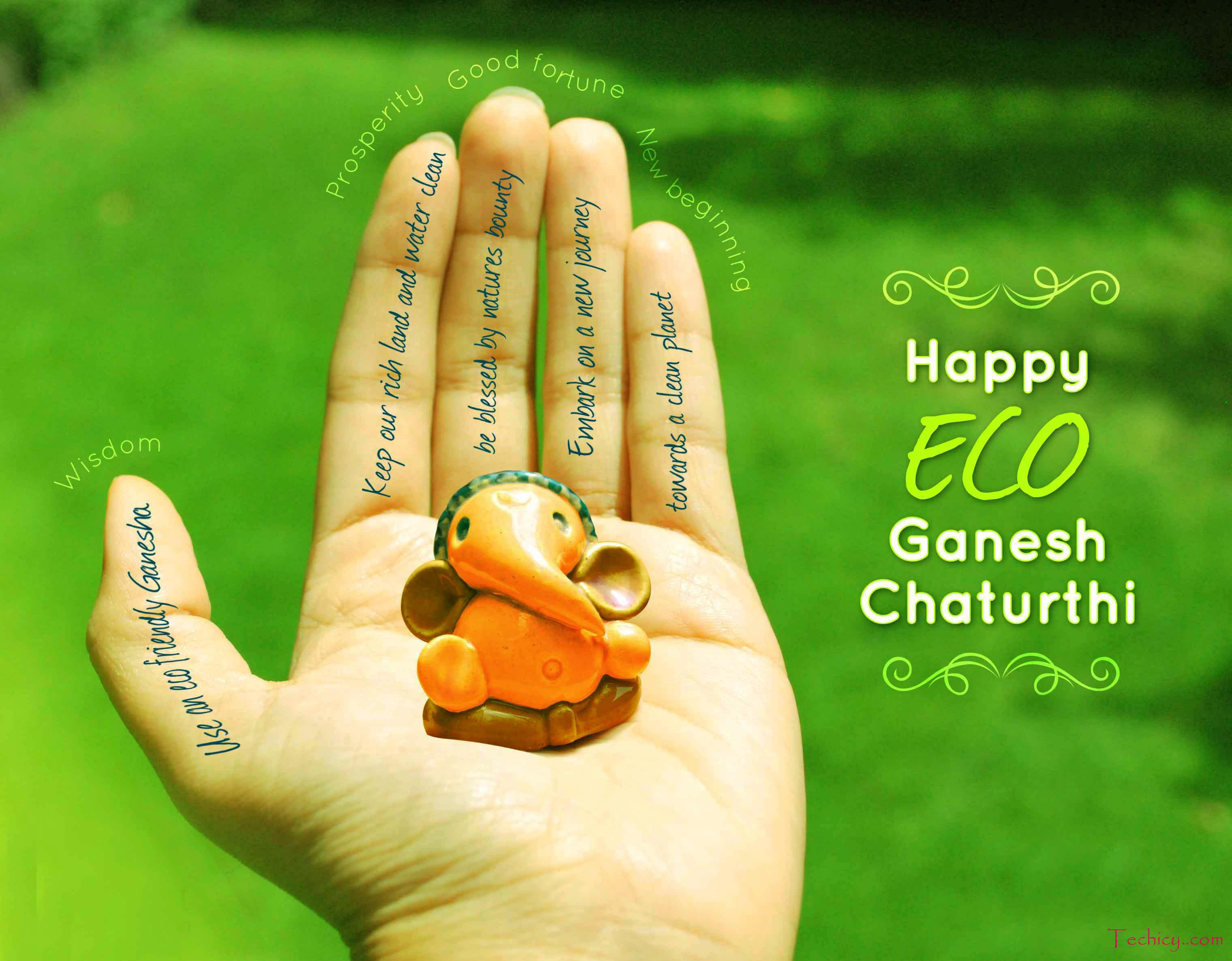 Hd wallpaper vinayagar - Download Ganesh Chaturthi Hd Pics Photos