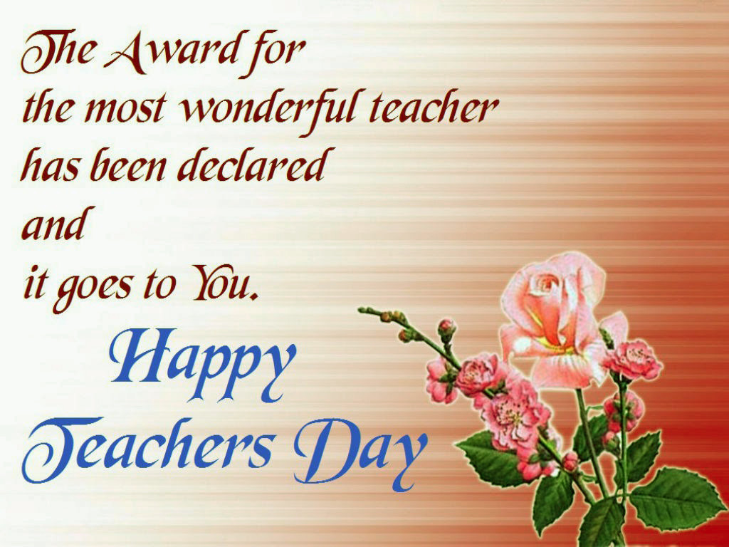 Teachers Day Greeting Card