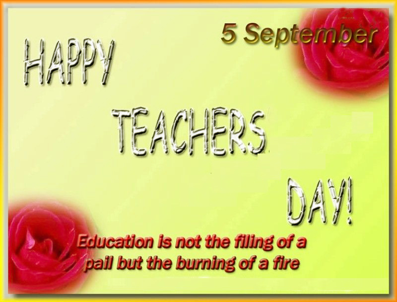 happy teachers day greeting cards  {free download}, Greeting card
