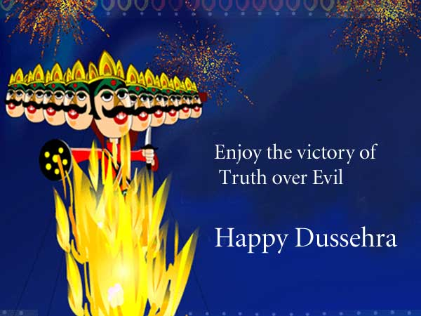 Happy Dussehra Whatsapp Status Messages Image