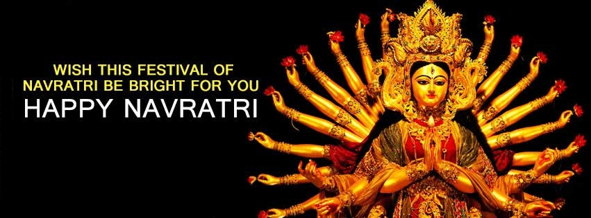 Navratri Durga Maa FB Covers Banners Free Download
