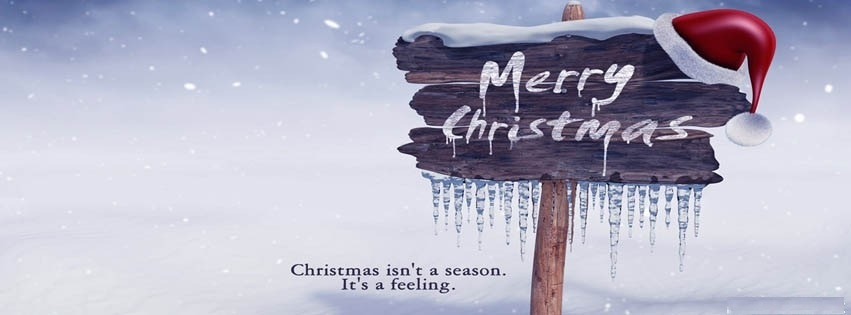 Merry Christmas Facebook Cover Photos, Banner 2015