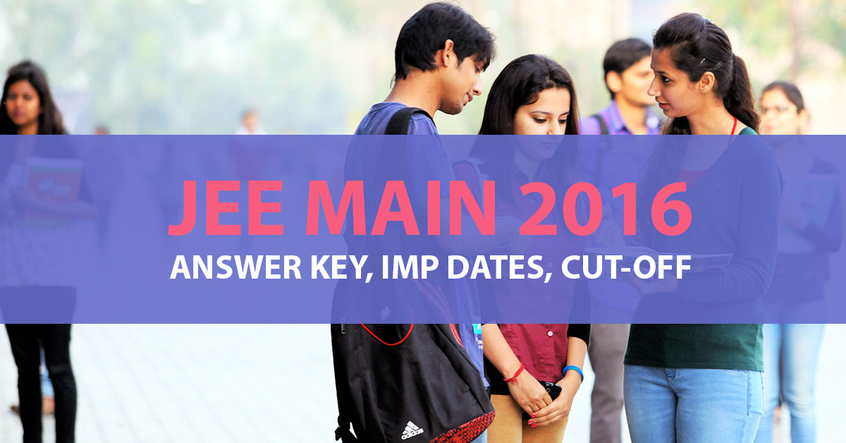 jee-main-2016-answer-key