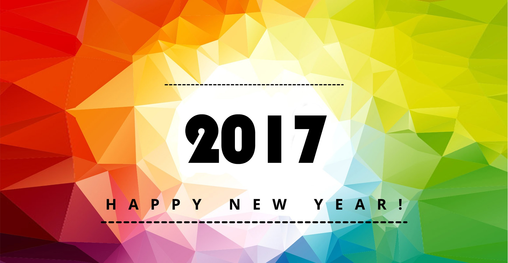 2017} Happy New Year HD Wallpapers, Images (Free Download) - Techicy