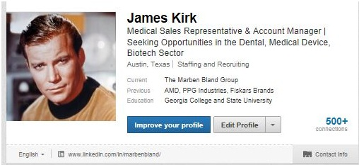 James Kirk Linkedin