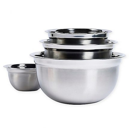 Bowls With Mixing Space