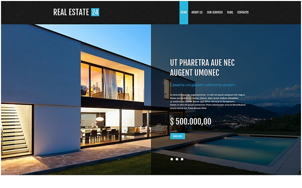 Realtor Services WordPress Theme