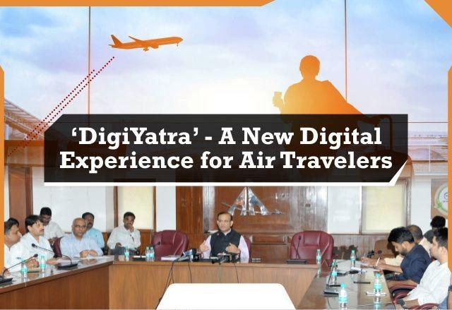 Digiyatra Flying Experience to Air Passengers