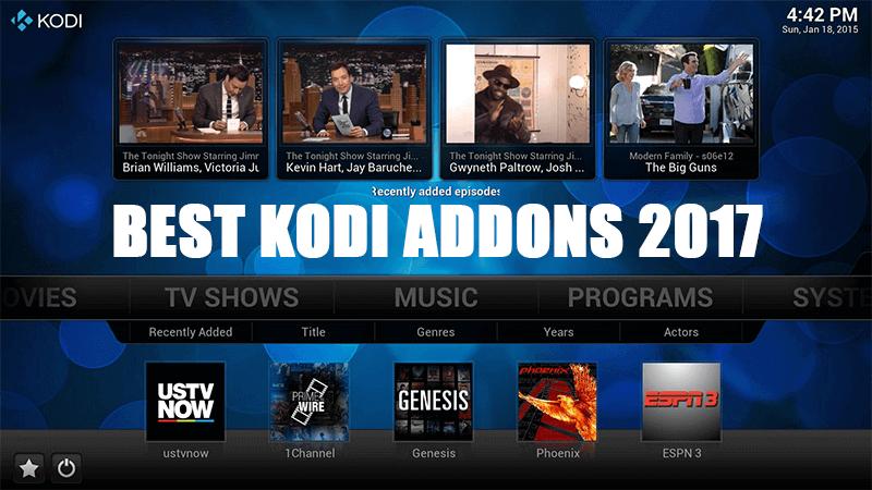 Best Kodi Addons for TV Shows