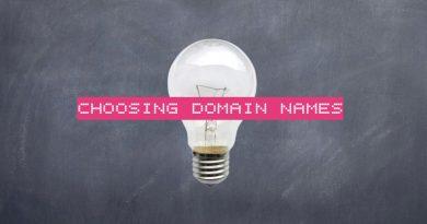 naming your website or blog