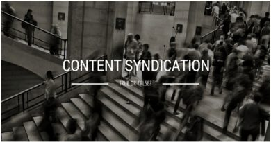 Why Content Syndication Is Important And Shouldn't Be Something Underrated?