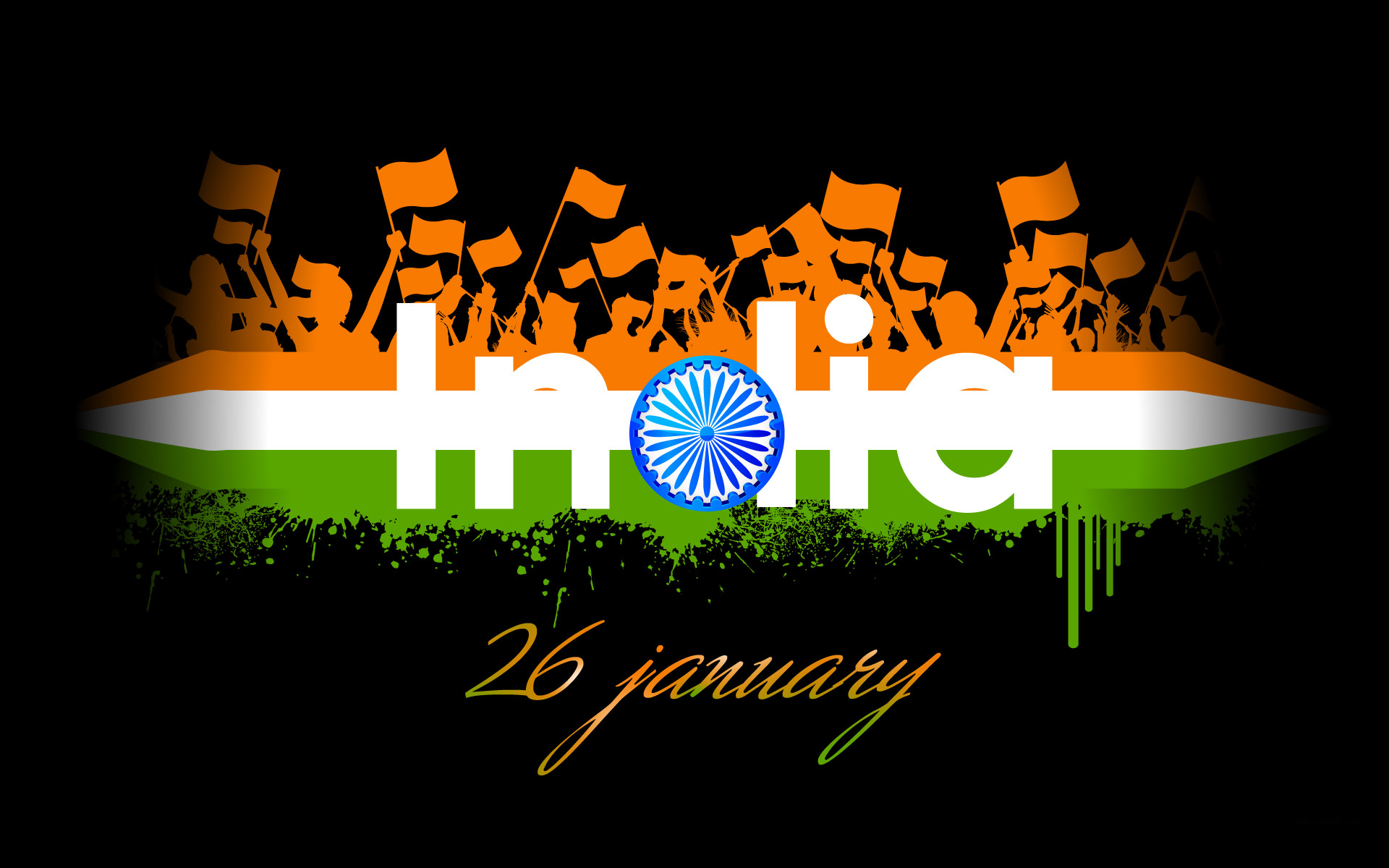 India Flag Hd Art: {*26 Jan 2017*} 68th Republic Day India HD Images