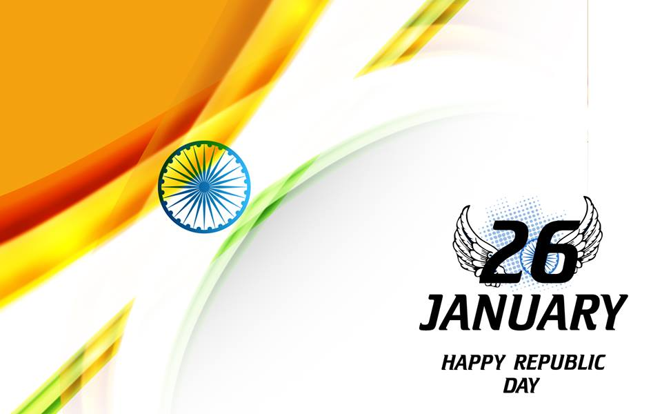 Happy Republic Day - 26 January