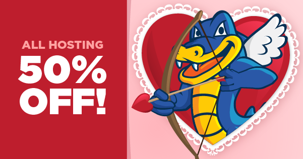 Hostgator Valentine's Day Sale