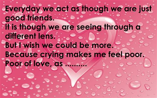 valentines poems for friends – thin blog, Ideas