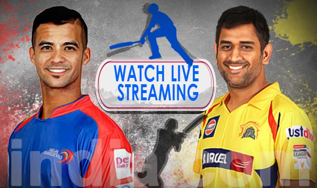 CSK vs DD Live Streaming