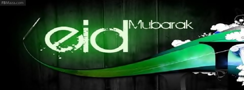 Eid Mubarak FB Covers, Photos, Banners 2015 13