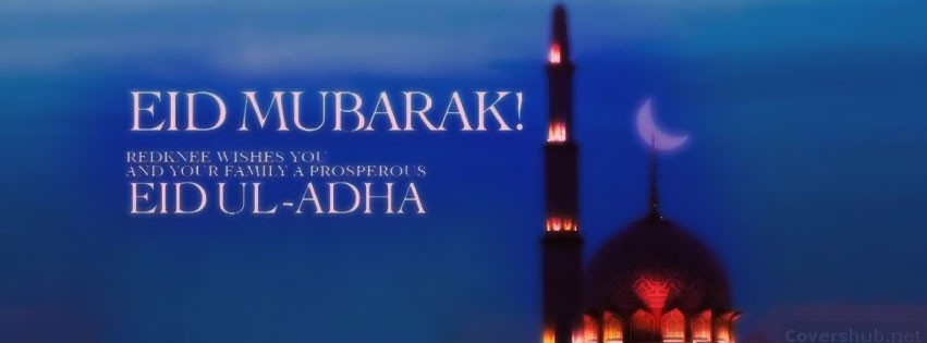 Eid Mubarak FB Covers, Photos, Banners 2015 4