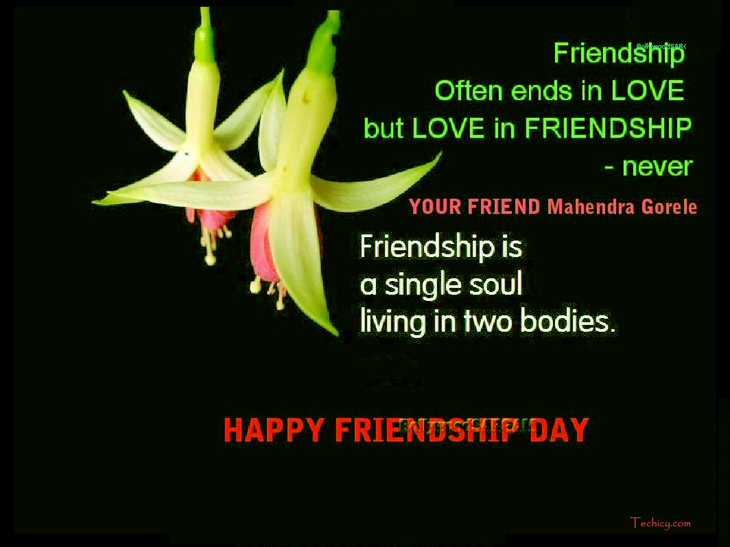 Best Happy Friendship Day Whatsapp Status And Facebook Messages 2016