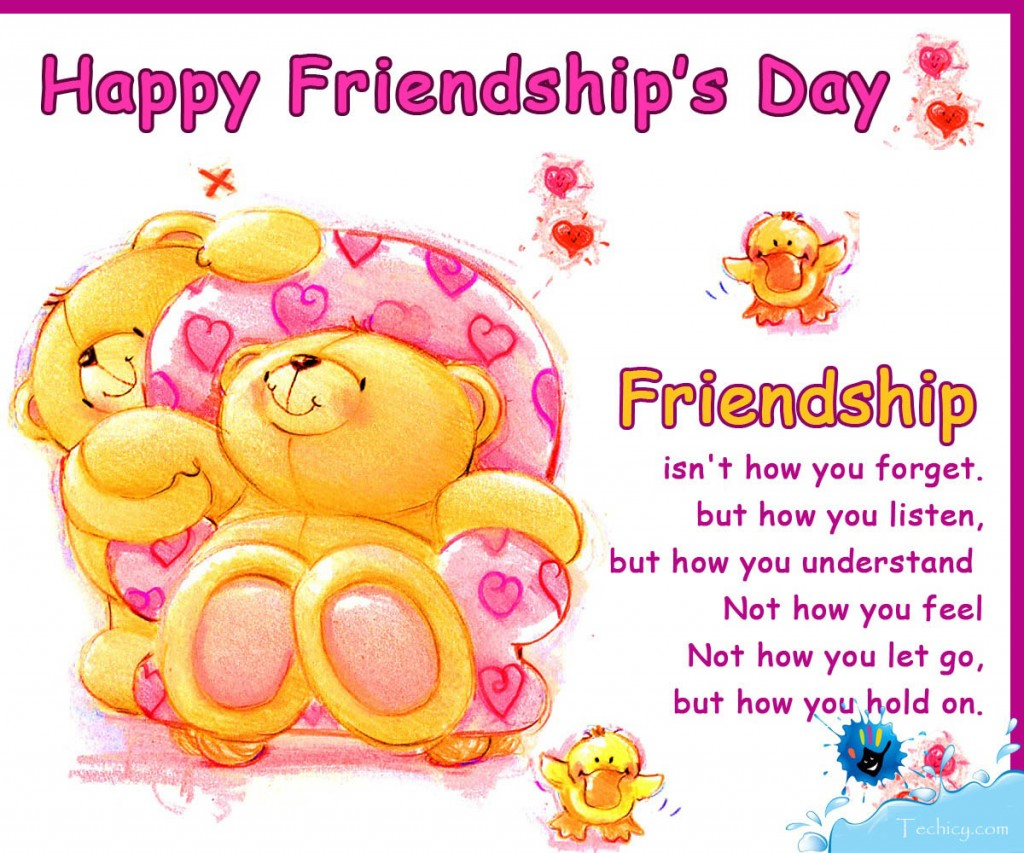 Happy Friendship Day Greetings Cards 2015