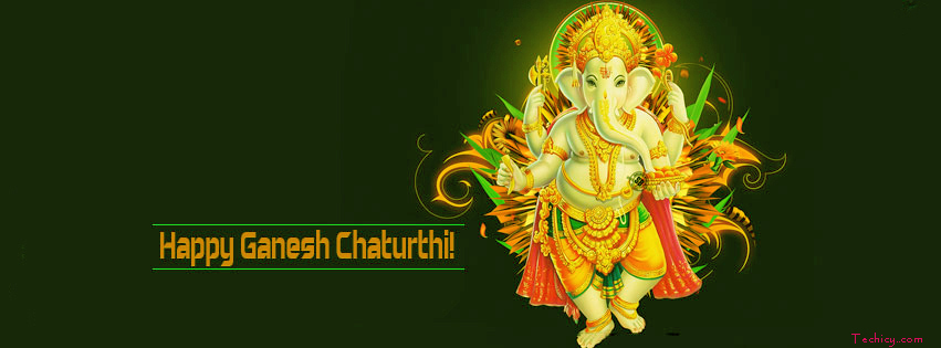 Ganesh Chaturthi FB Covers, Banners Photos Download