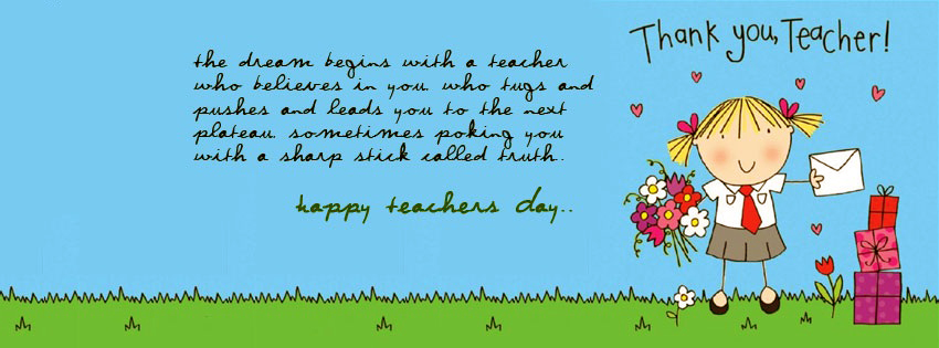 Happy Teachers Day FB Covers, Photos, Banners