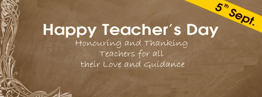 Teachers Day Facebook Covers, Photos, Banners