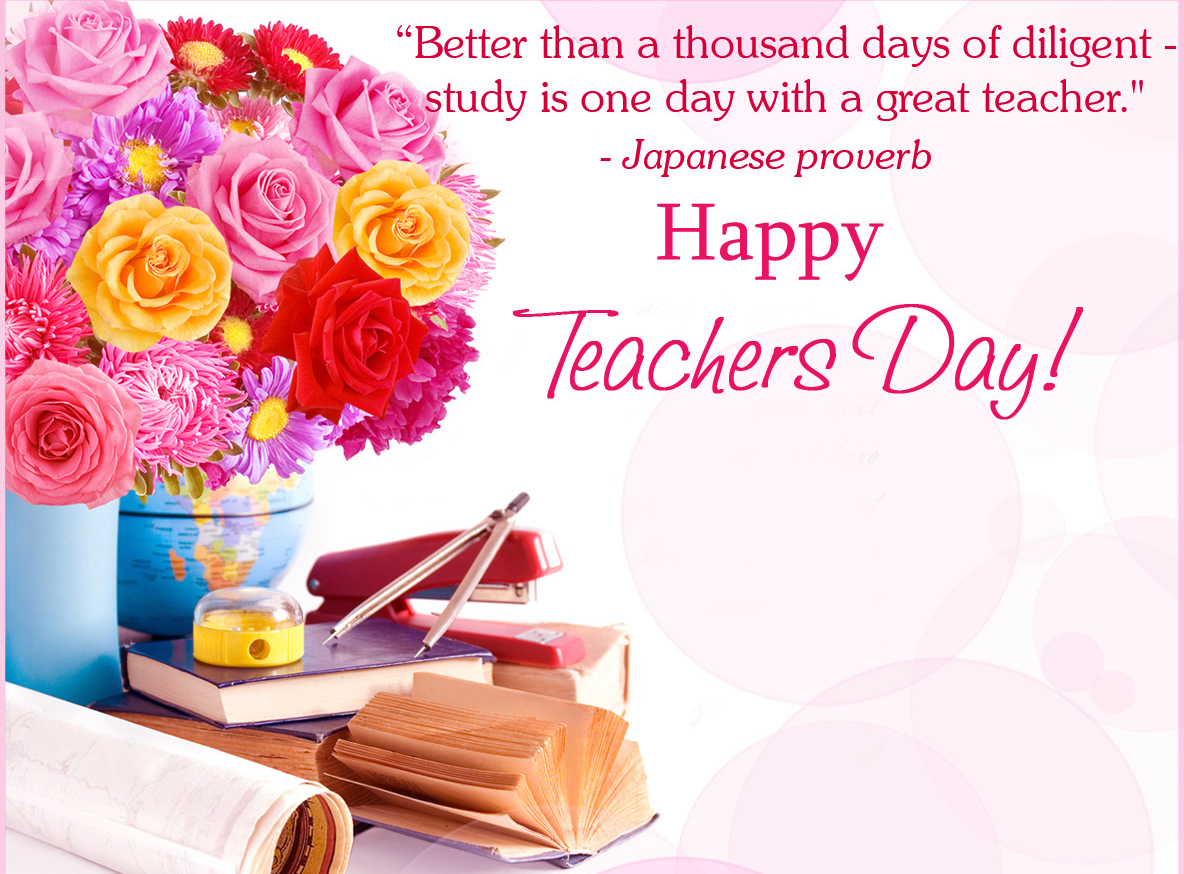 Browse Teachers Day Greeting Cards 2017  Exam Best Wishes Cards