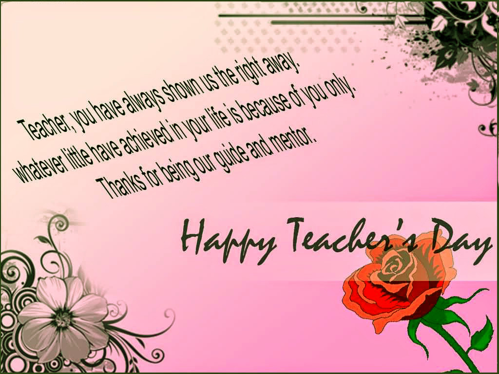 Happy Teachers Day Greeting Cards 2016 Free Download