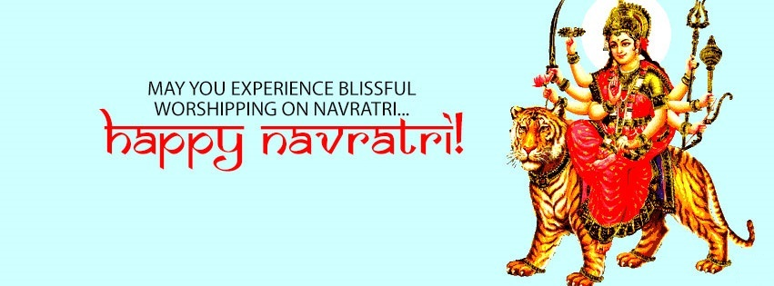 Navratri Durga FB Covers Banners Free Download