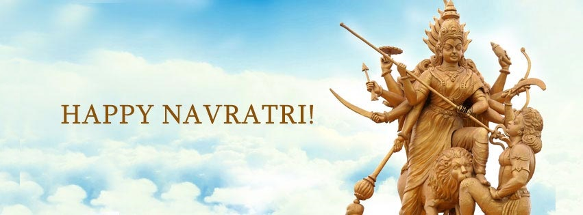 Navratri Durga Facebook Covers Banners Free Download