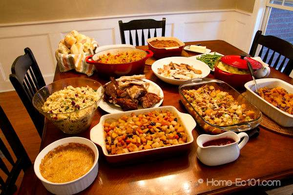 Happy Thanksgiving Dinner Ideas & Recipes