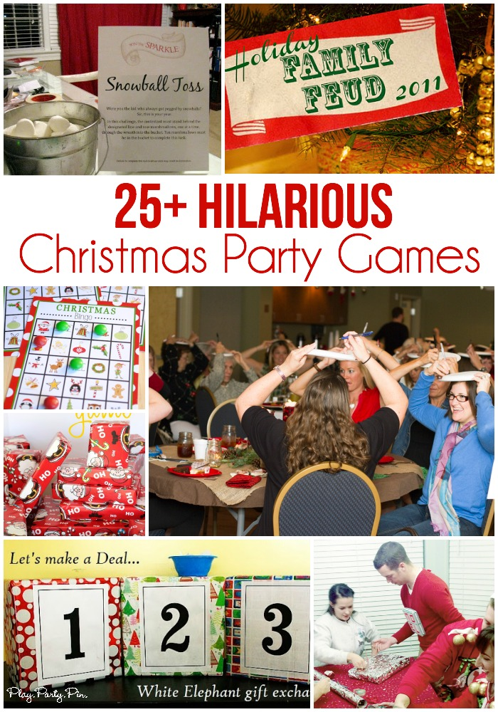 game ideas for christmas party
