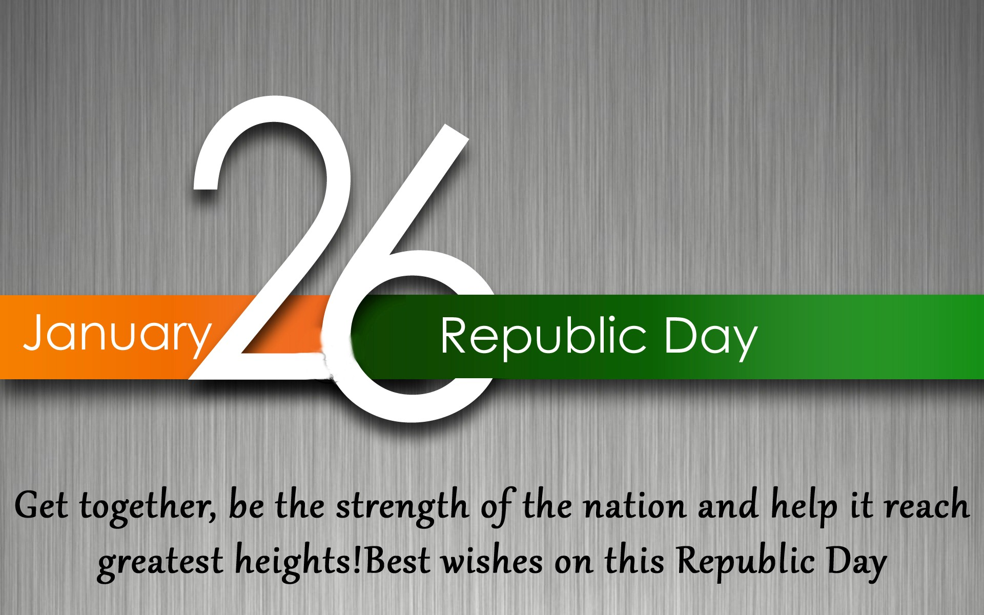Colors of Patriotism with Republic Day Quotes in English