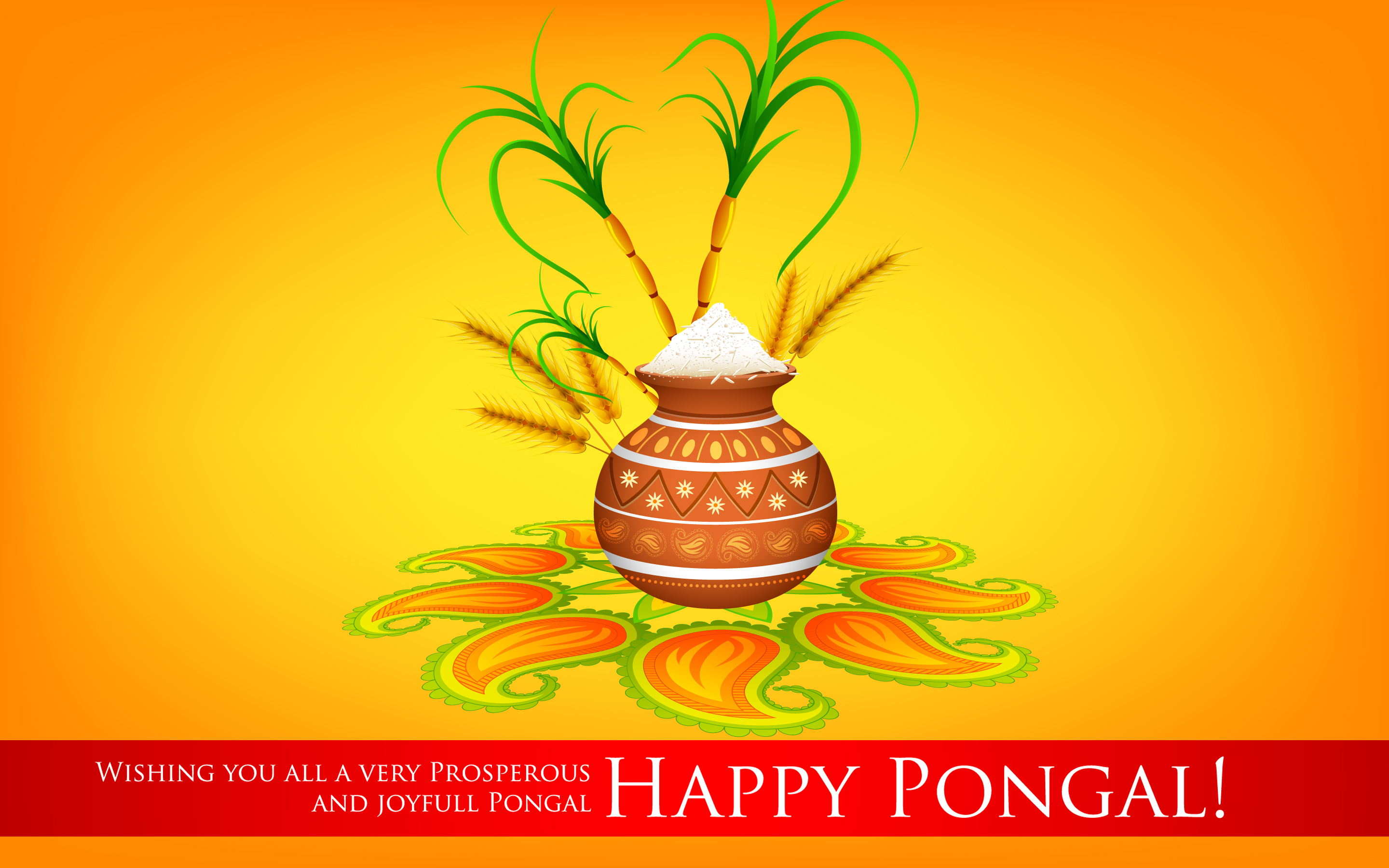 Happy Pongal Wallpapers Pictures Images  Free Download  Techicy