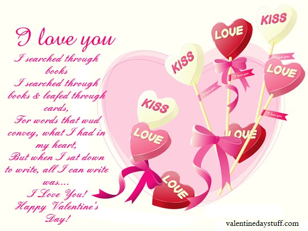 Special Valentine's Day Greeting Cards Girlfriend Wife