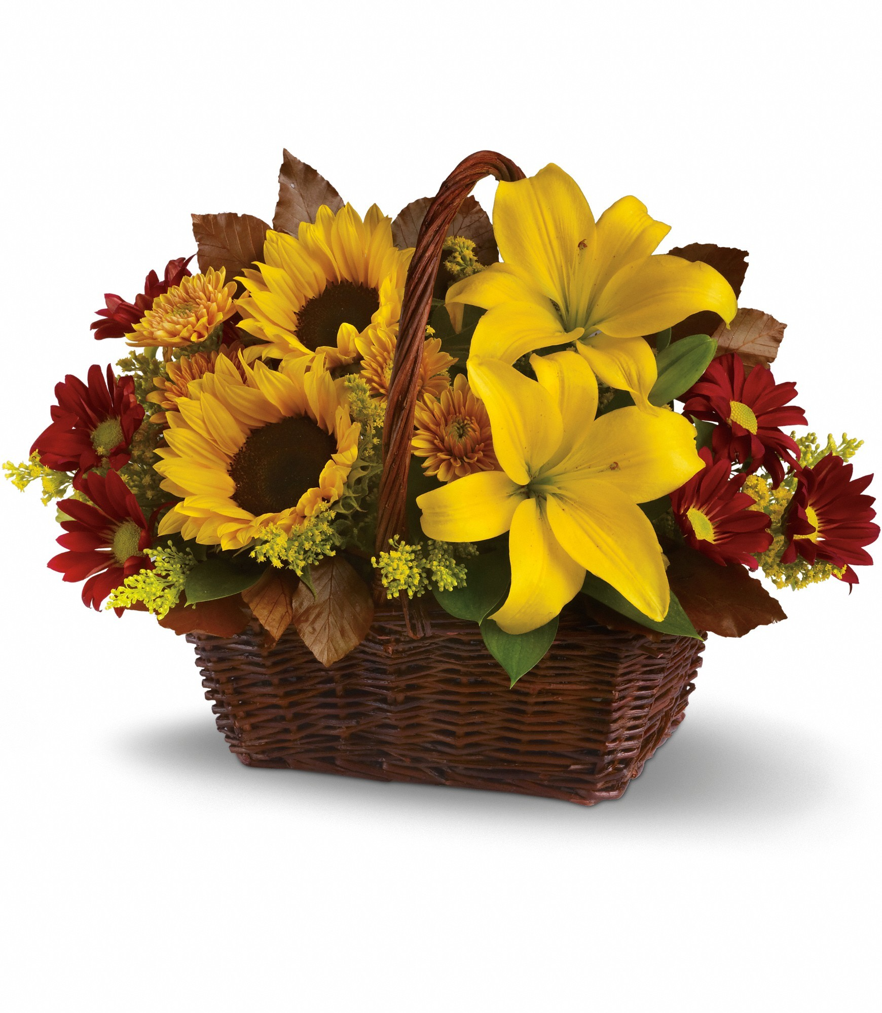 Valentine's Day Gifts for Her flowers Basket