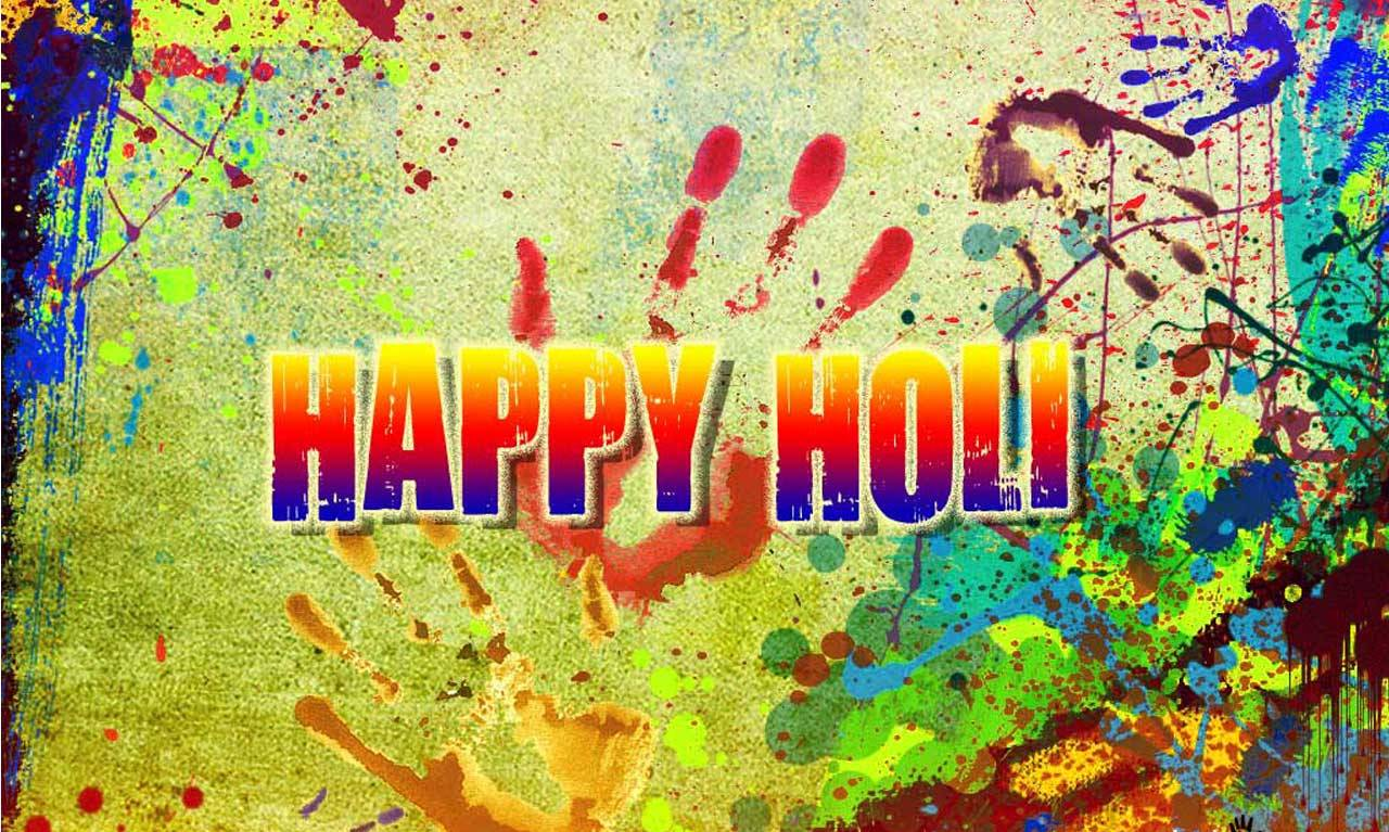 Download Holi HD Wallpaper