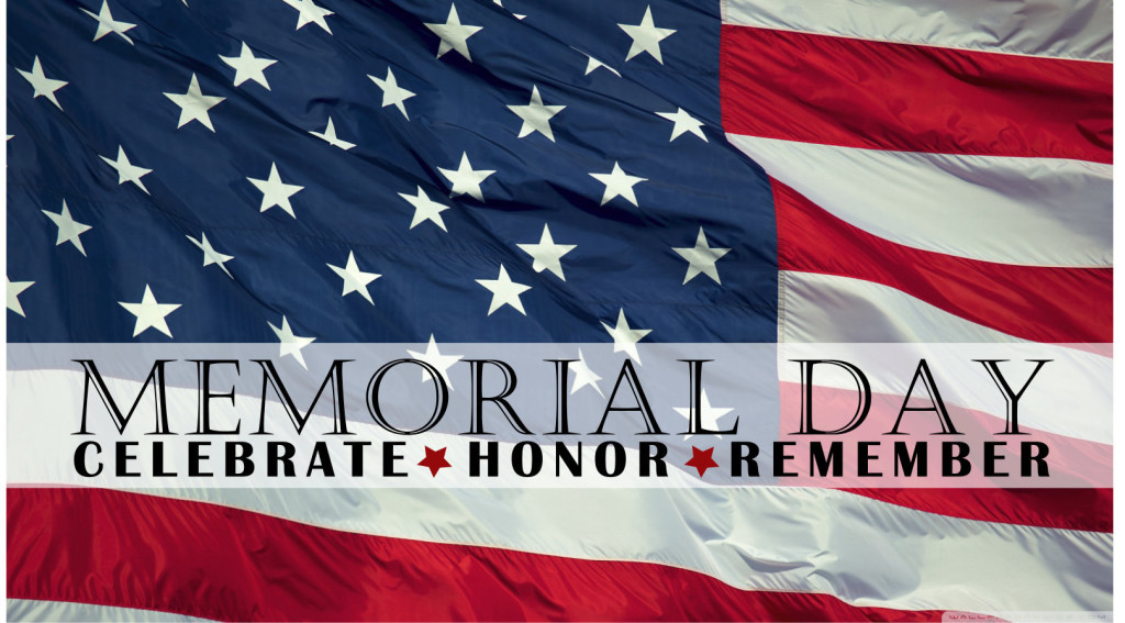 Memorial Day - The Day of Gratefulness, Remembrance and Love