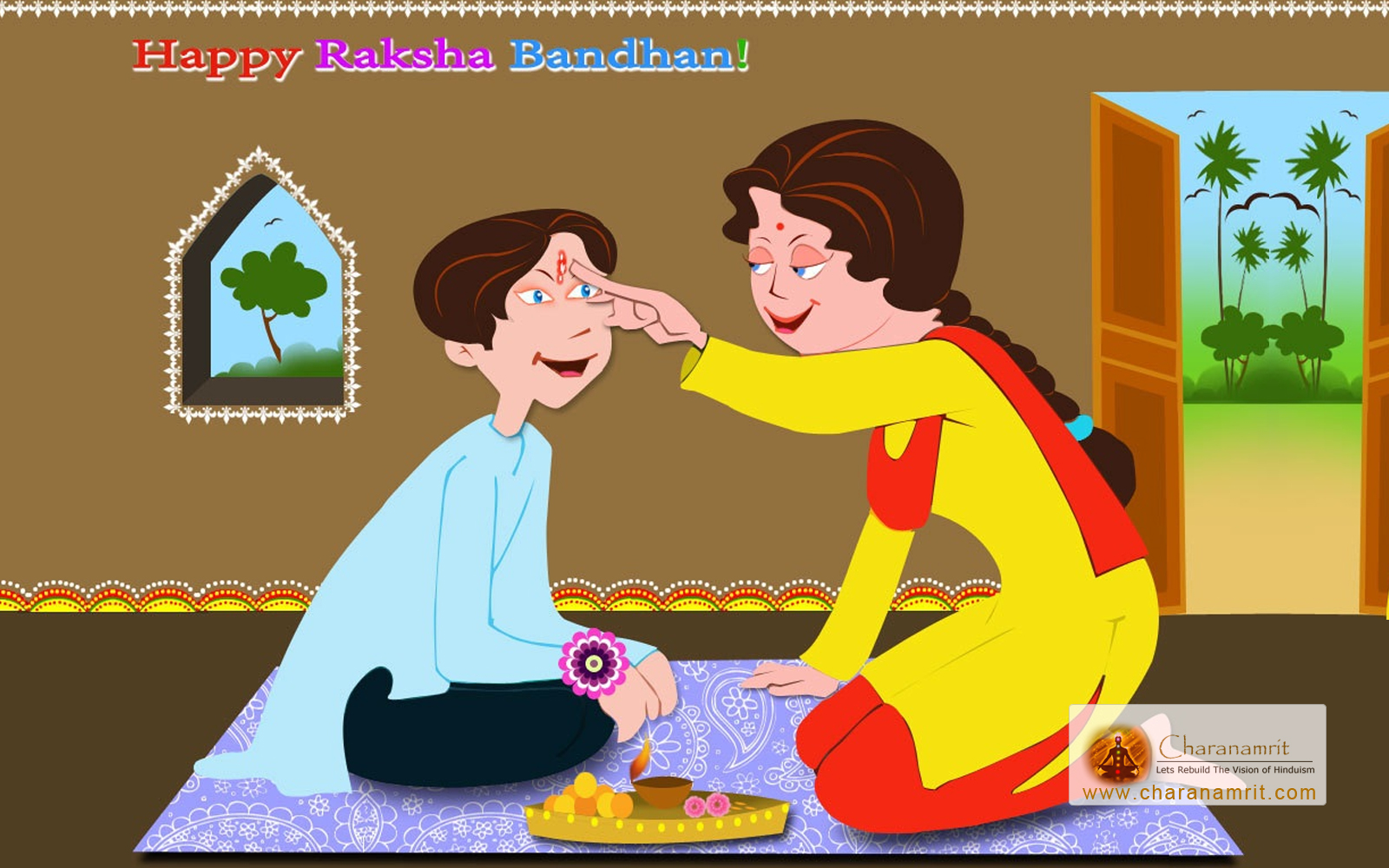 Happy Raksha Bandhan Rakhi HD Images & Wallpapers - Free Download