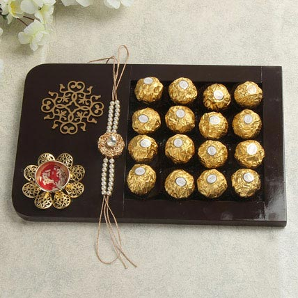 Rakhi with Chocolates Online