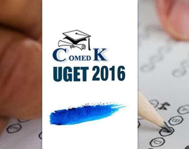 COMEDK UGET 2016